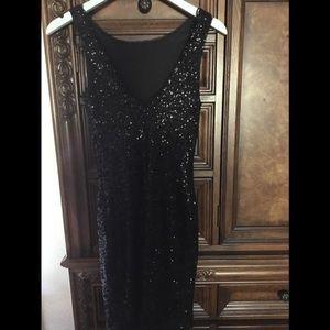 Zara Trafaluc Sequin Dress Size Small